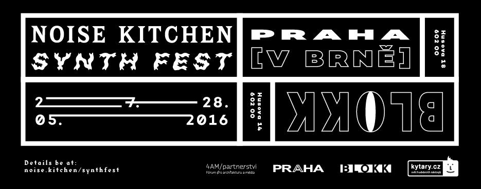 27. – 28. 5. – Noise Kitchen Synth Fest 2