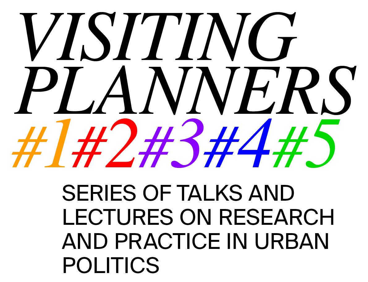 PO – ČT / 22. 5. – 29. 6. / VISITING PLANNERS / série přednášek