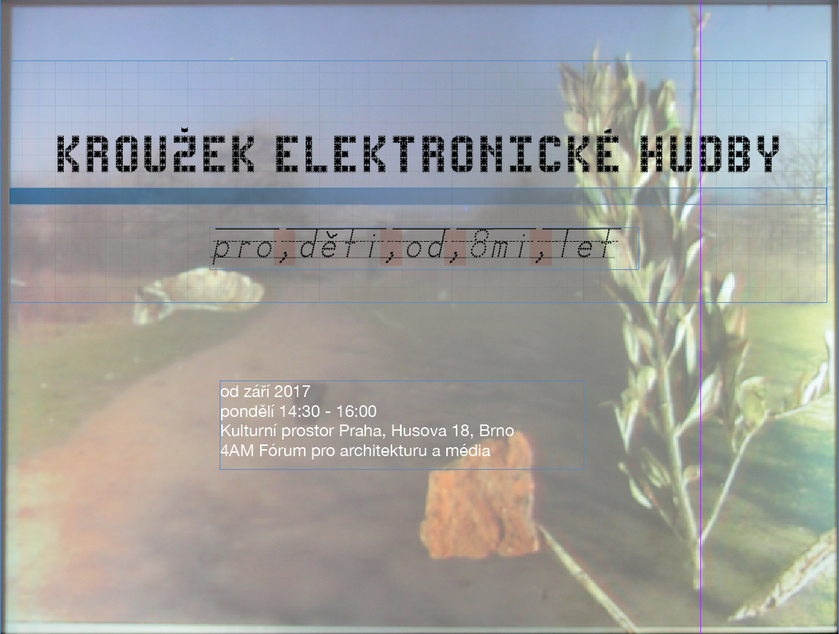 PO / 28.5. / 14.30 / Kroužek elektronické hudby / workshop pro děti