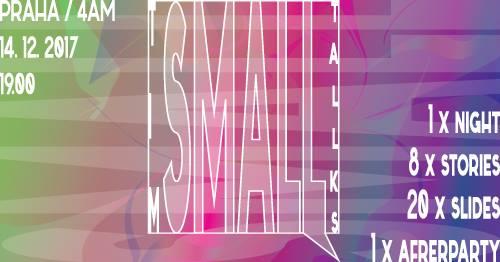 ČT / 14.12. / 19.00 / TIM Small Talks / prezentační večer