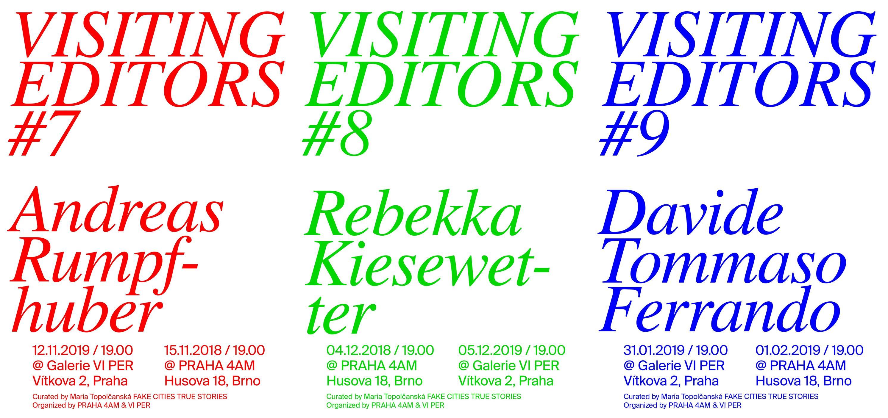ÚT / 4.12. / 19.00 / VISITING EDITORS #8 Rebekka Kiesewetter: Publishing as Critical Device / přednáška, diskuse