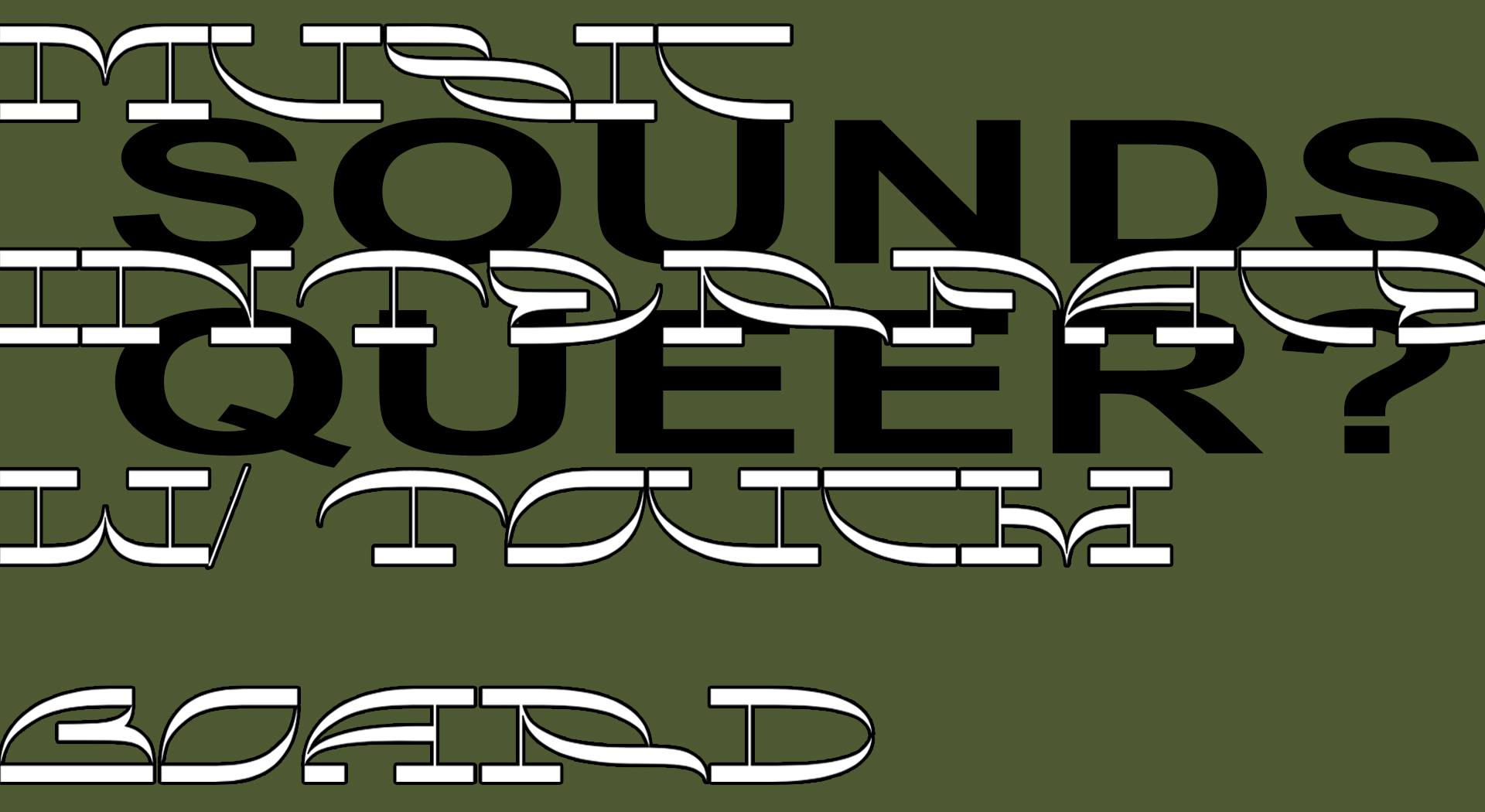 NE / 20.1. / 17.00 / S(o)unday Mixtapes: Sounds Queer? – Music Interfaces with Touch Board  / workshop
