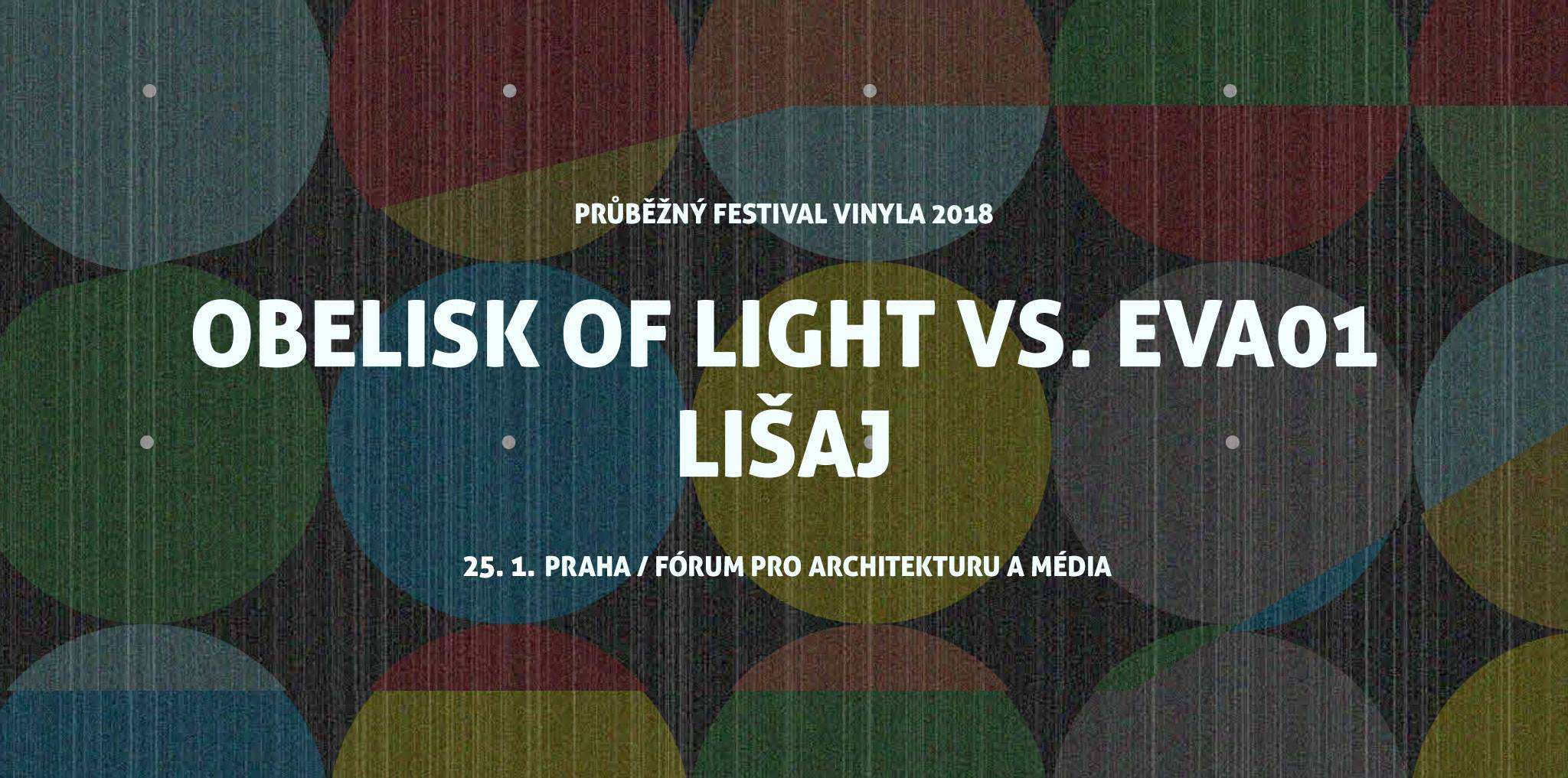 PÁ / 25.1. / 20.00 / Vinyla: Genot Centre Night – Obelisk of Light vs. eva01 + Lišaj / koncert