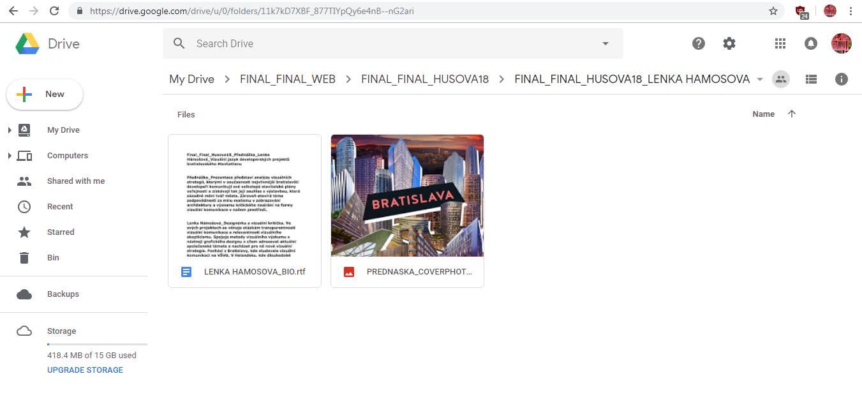 ČT / 14.3. / 19.00 / Final_Final_Husova18_Lenka Hámošová_Vizuální jazyk developerských projektů bratislavského Manhattanu / přednáška