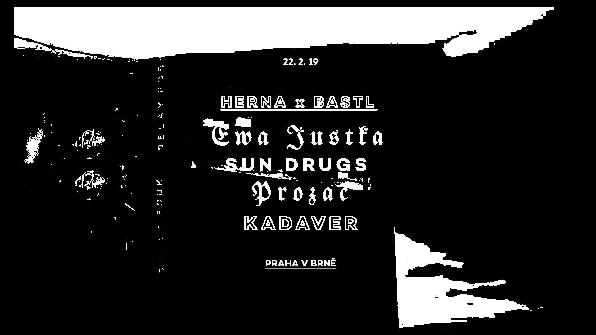 PÁ / 22.2 / 21.00 / Herna x Bastl: Ewa Justka / koncert, dj set