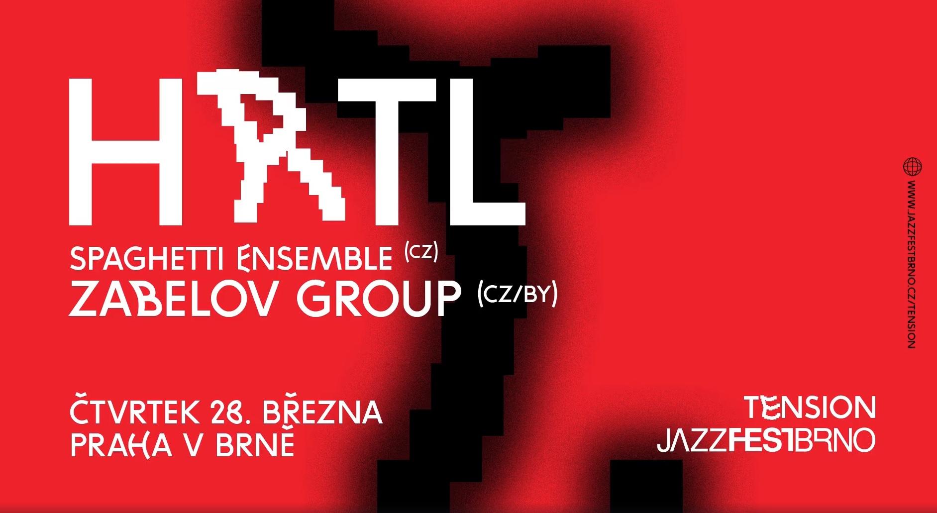 ČT / 28.3. / 20.00 / Tension: Zabelov Group + HRTL Spaghetti Ensemble / koncert