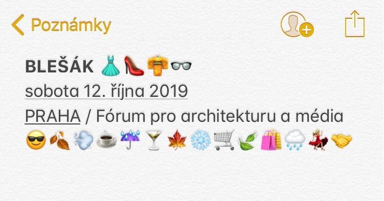 SO / 12.10. / 12.00 / Blešák vol. 2 / burza