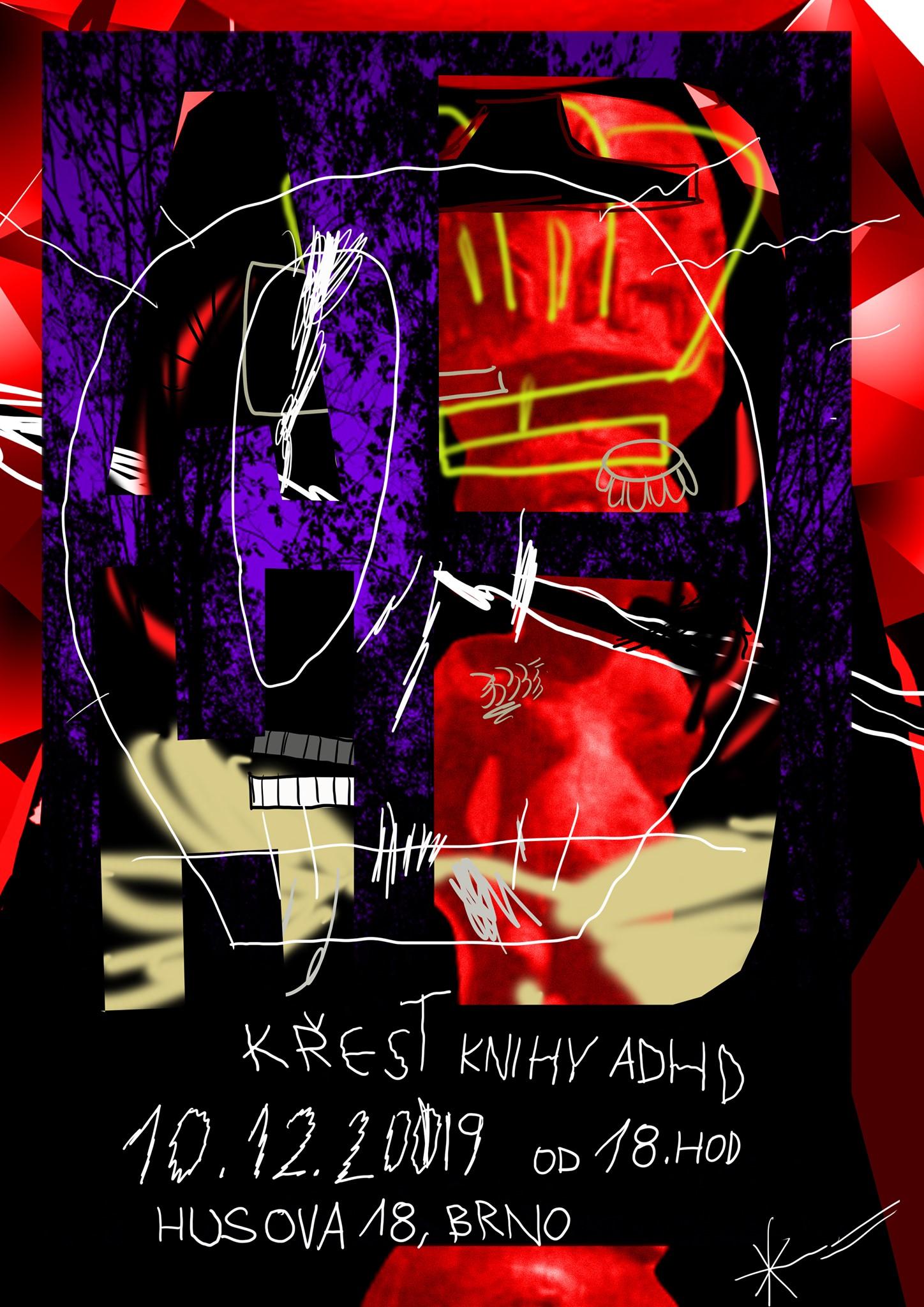 ÚT / 10.12. / 18.00 / Křest knihy ADHD / křest knihy